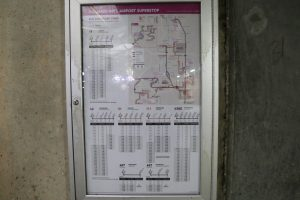 board of bus schedule