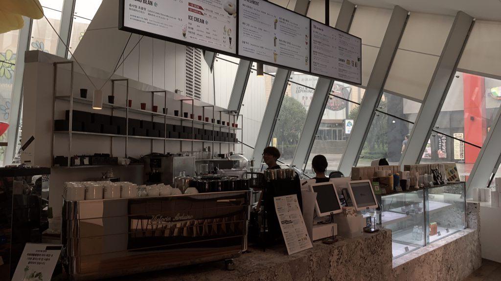 G=DRAGONのカフェ