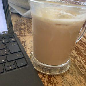 ハワイ大学付近のカフェ