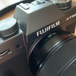 フジフィルムのカメラ
