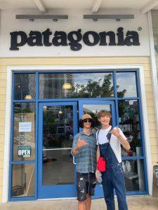 パタゴニアのかっこいい店員